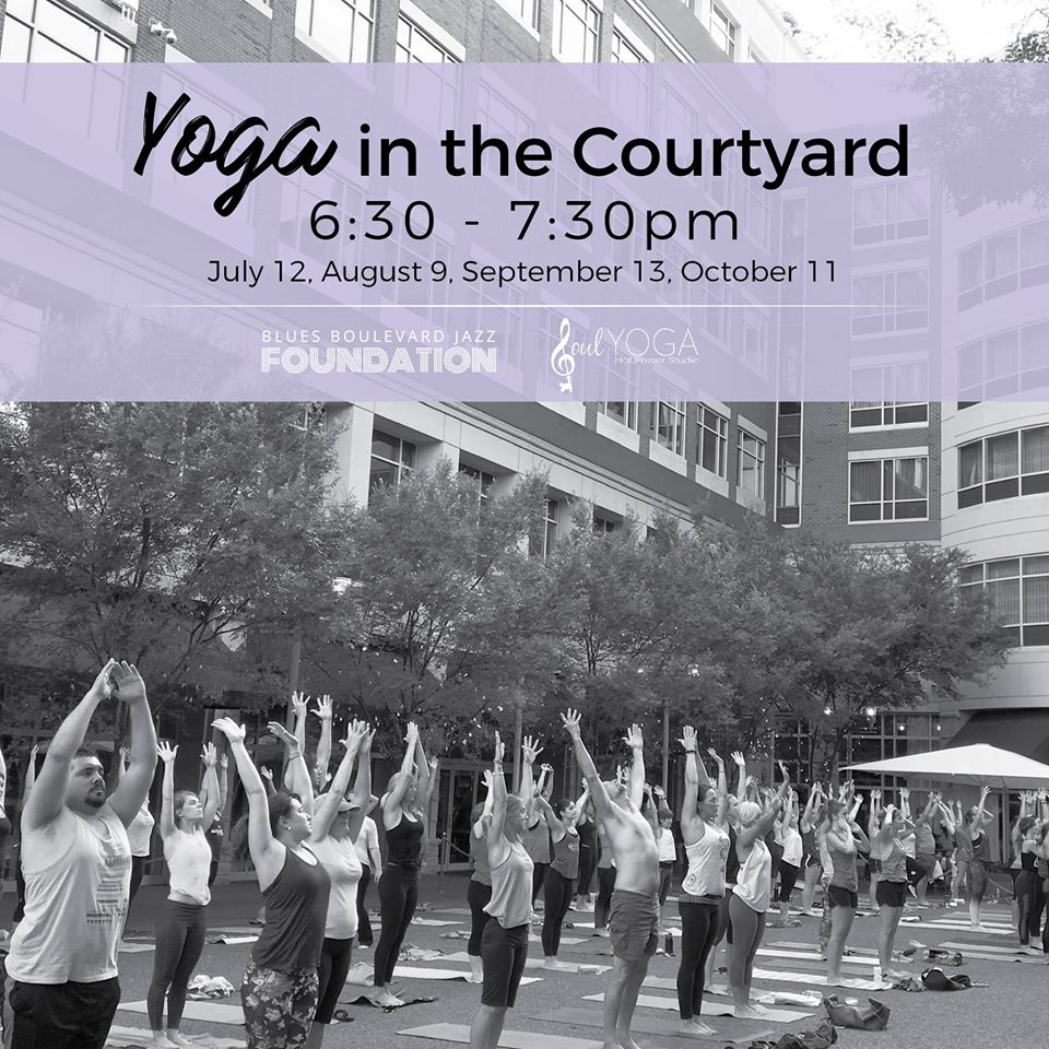 Yoga in the Courtyard